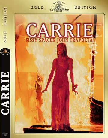 CARRIE - GERMAN GOLD EDITION REGION 2 DVD