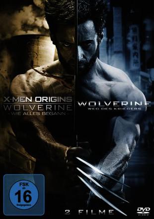 X-Men Origins - Wolverine: Wie alles begann + The Wolverine: Weg des Kriegers  [2 DVDs]