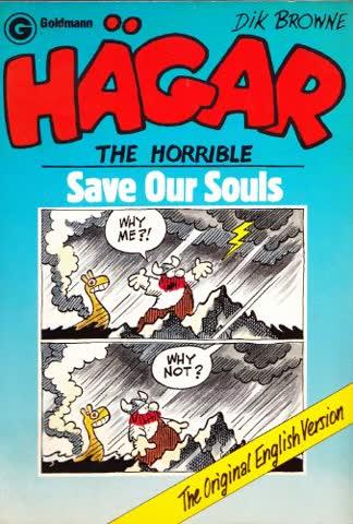 Hägar the Horrible. Save our Souls. In englischer Sprache.