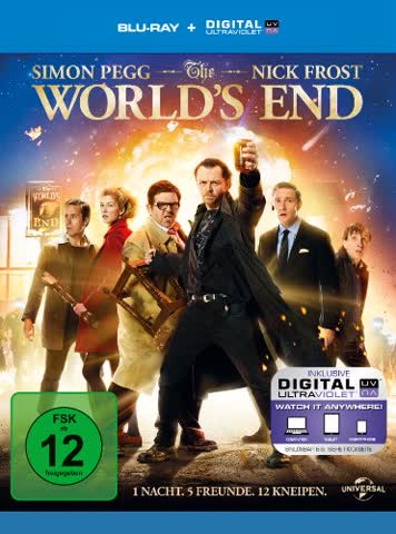 THE WORLDS END - MOVIE