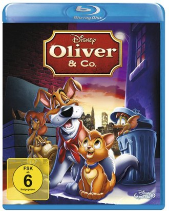 Oliver & Co. [Blu-ray]