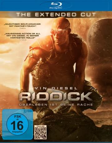 Riddick - Überleben ist seine Rache - Extended Cut [Blu-ray]