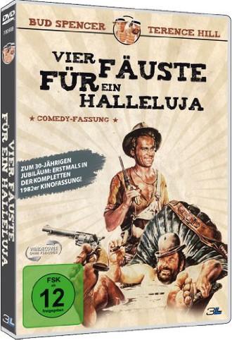 Vier Fäuste für ein Halleluja (1982er Kino-Comedy-Fassung) (DVD)