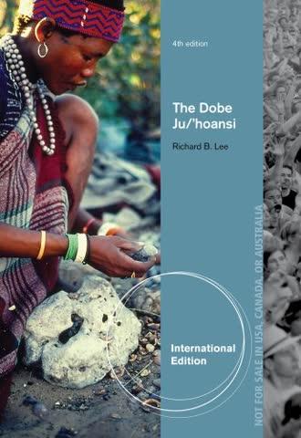 The Dobe Ju/'Hoansi, International Edition