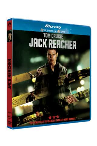 Jack reacher [Blu-ray] [FR Import]