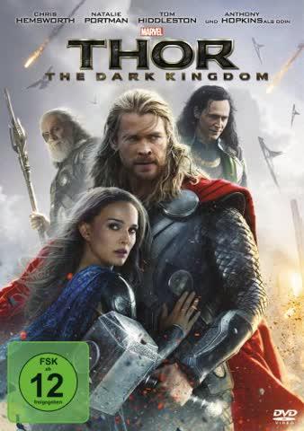 THOR - THE DARK KINGDOM - THOR [DVD] [2013]