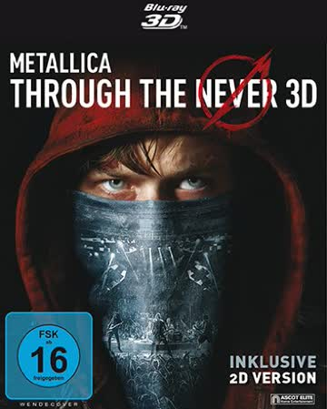 Metallica - Through The Never (3D Vers.) (Blu-ray)