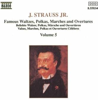 Various - Beliebte Walzer, Polkas, Märsche und Ouvertüren Vol. 5