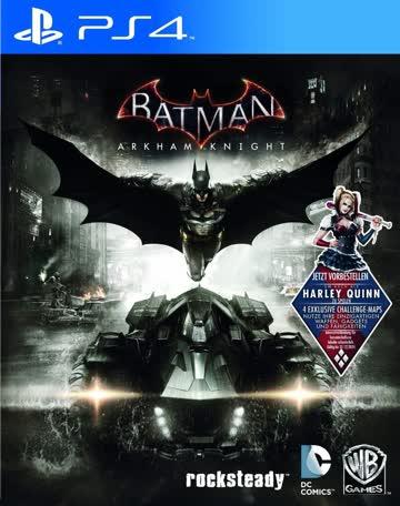Batman Arkham Knight PS-4 AT D1 inkl Harley Quinn DLC