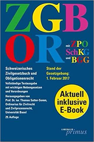Schweizerisches Zivilgesetzbuch und Obligationenrecht