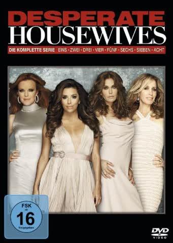 Desperate Housewives - Season 1-8 (Komplettbox) (DVD) (FSK 16)