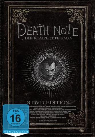 Death Note - Die komplette Saga [3 DVDs]