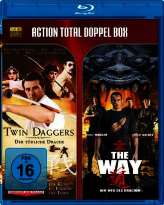 Action Total BD: Twin Daggers / The Way [Blu-ray]