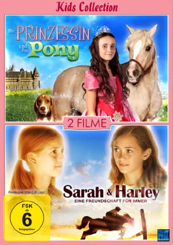 Die Prinzessin und das Pony & Sarah und Harley (Kids Collection) [Collector's Edition] [Doppel-DVD]