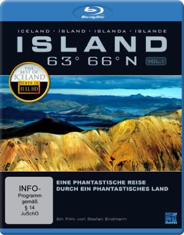 Island 63° 66° N - Eine phantastische Reise durch ein phantastisches Land [Blu-ray]