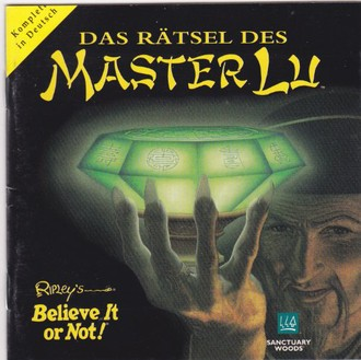 Das Rätsel des Master Lu, JewelCase, 1995