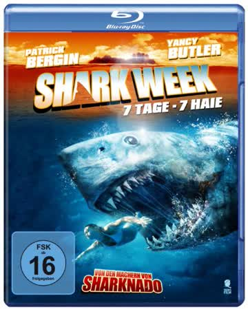 Shark Week - 7 Tage, 7 Haie [Blu-ray]