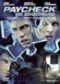 Paycheck - Die Abrechnung [DVD] (2004) Ben Affleck, Aaron Eckhart, Uma Thurman