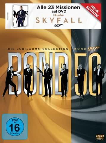 James Bond 007: Bond 50 - Die Jubiläums-Collection (23 Discs)