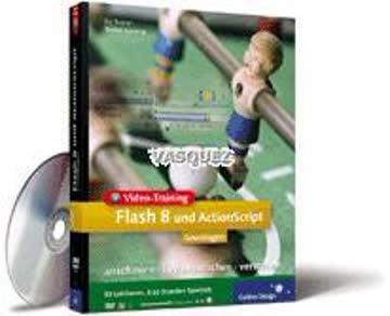Video-Training Macromedia Flash 8 und Actionscript - Grundlagen