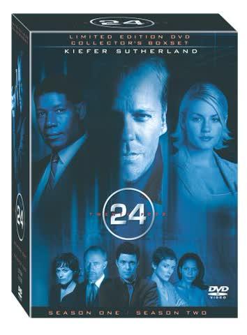 24 - Season 1 + 2 Doublepack (13 DVDs)