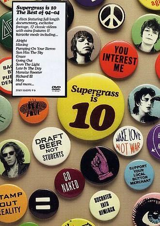Supergrass - Supergrass is 10: The Best of 94 - 04 (2 DVDs)