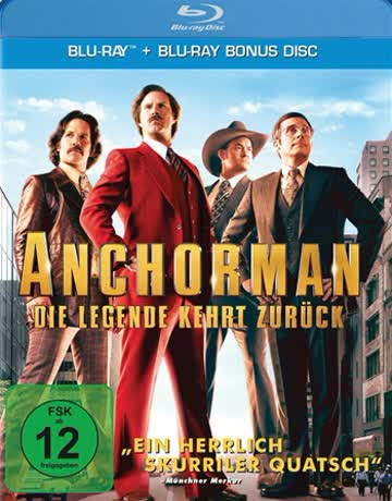 Anchorman 2 [Blu-ray] [2013]