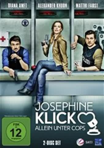 Josephine Klick - Allein unter Cops - Staffel 1 (Doppel-DVD)