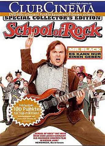 DVD SCHOOL OF ROCK