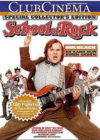 DVD SCHOOL OF ROCK