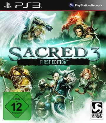 Sacred 3 First Edition - Import (AT) PS3 [German Version]