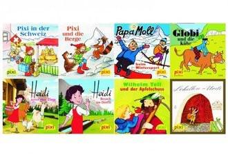 Mit Pixi in der Schweiz