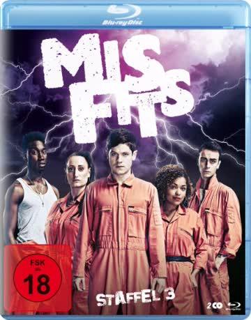 Misfits - Season 3 (Blu-ray)