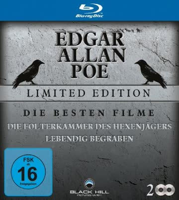 Edgar Allan Poe Edition - Die besten Filme [Blu-ray] [Limited Edition]