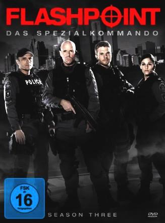 Flashpoint - Das Spezialkommando - Season 3 [3 DVDs]