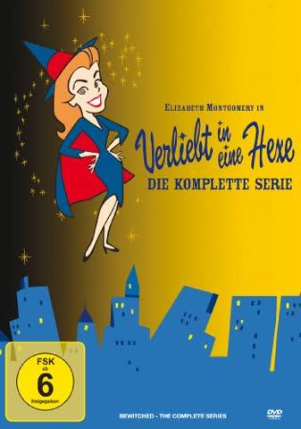 Verliebt in eine Hexe - komplette Serie (34 DVDs) (DVD)