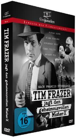 Tim Frazer jagt den geheimnisvollen Mr. X - nach Francis Durbridge (Filmjuwelen)