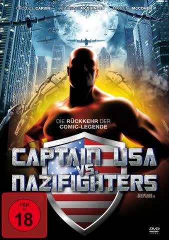 Various-Captain USA Vs. Nazifighters(DVD) (FSK 18)
