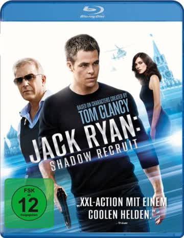 Jack Ryan: Shadow Recruit [Blu-ray]