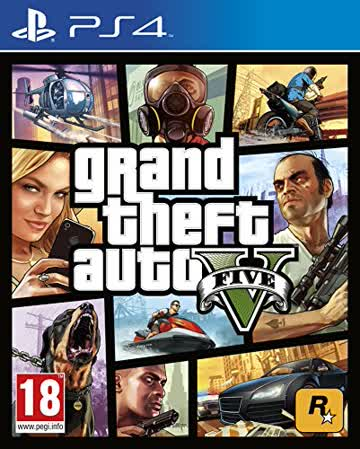 Grand Theft Auto V [AT-Pegi] - [PlayStation 4]