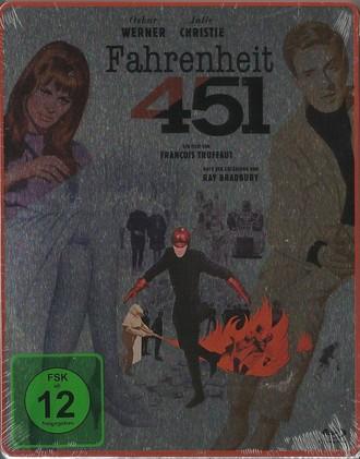 Fahrenheit 451 - Steelbook (Blu-ray)