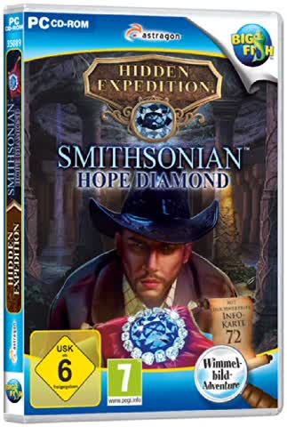 Hidden Expedition: Smithsonian Hope Diamond - [PC]