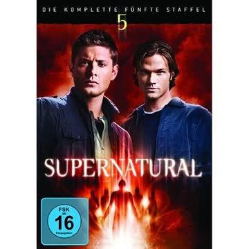 Supernatural - Die Komplette 5. Staffel (7 Discs)