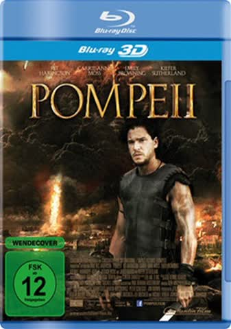 POMPEII 3D - MOVIE [Blu-ray] [2014]