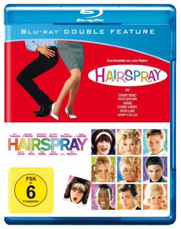 Hairspray 1988 & Hairspray 2007 [Blu-ray]