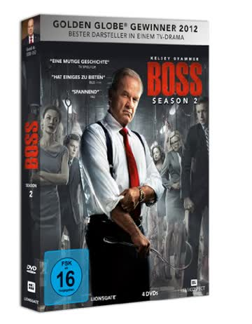 Boss - Staffel 2 [4 DVDs]