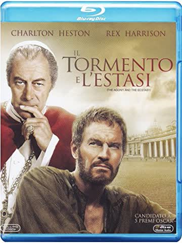The Agony And The Ecstacy - Il tormento e l'estasi [Blu-ray] [IT Import]