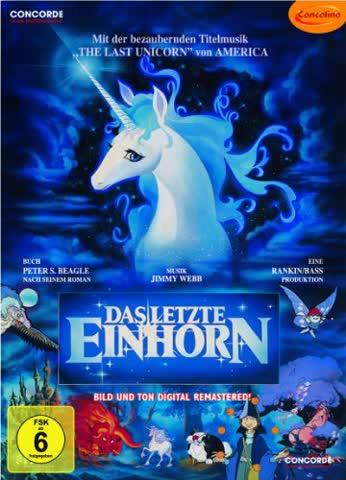 DVD DAS LETZTE EINHORN