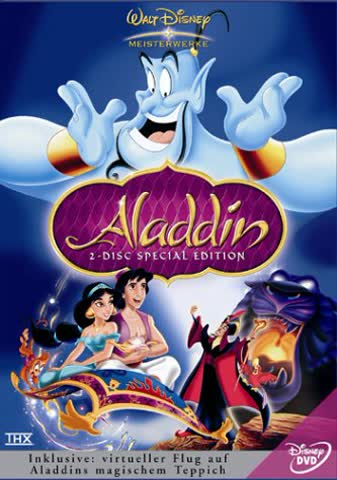 Aladdin (Special Edition, 2 DVDs)
