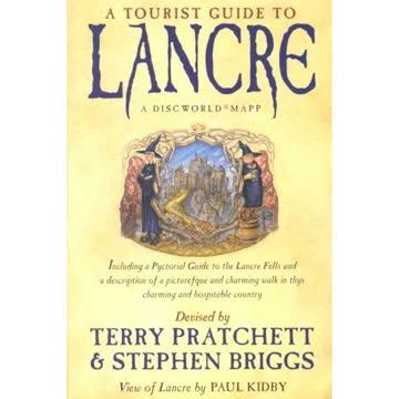 A Tourist Guide To Lancre. Farbige Karte Und Begleitheft - A Discworld Mapp. Including A Pictorial G